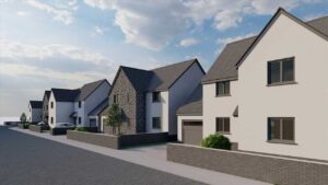 Proposed Development At Site Adjoining Maesyrhaf,, Cross Hands